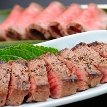 特選牛を使用したステーキ&ローストビーフ