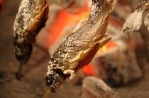 岩魚炉端焼き