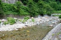 直海谷川の清流