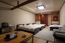 新館 洋室フォース(4ベッド)