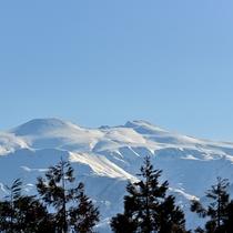 【雪の白山イメージ】