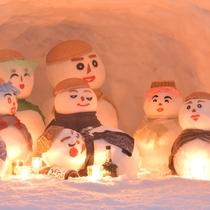 【雪だるままつり】