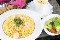 【スパゲティマリナーラセット】
