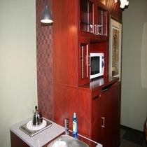 特別室内の簡易キッチン