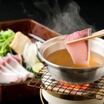 【お料理】鰤しゃぶ鍋(一例)