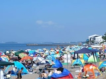 波佐間 海水浴場