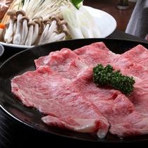 「常陸牛 特選すき焼き」(料理一例)