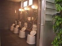 大浴場内の洗い場スペース