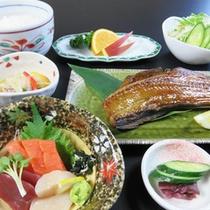 *【夕食一例/ビジネス膳(魚料理)】肉定食または魚定食をお選びいただけます。
