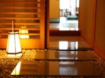 紫雲閣客室玄関