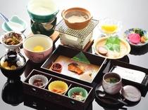 温泉粥付き和朝食