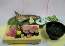 まぐろ寿司定食