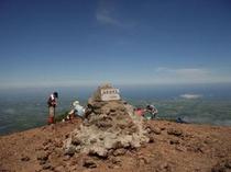 斜里岳山頂