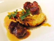 豚フィレ肉のシードル煮