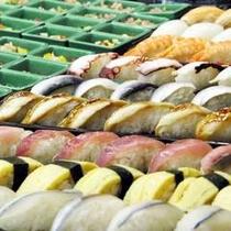【お寿司食べ放題】日帰り温泉のお食事処ではお寿司食べ放題もあります(日曜日限定〜12月12日)
