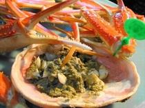 地もの松葉ガニ 湯蟹