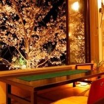 美潮(広間・夜・桜)①