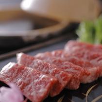 【食材一例】京都肉。古くから肉牛文化の根付く京都のご当地牛