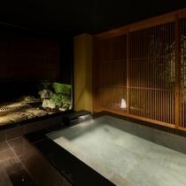 【特別室 奏水(かなみ)の間 水ノ綾】刻々と変わる石庭の景色を眺めながら、お寛ぎ下さい