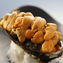 【料理一例】濃厚な旨みの詰まった地雲丹。磯の香ほのかに香る絶品