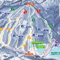★岩手高原スキー場コース案内