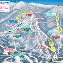★雫石スキー場コース案内