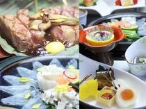 季節の会席料理(冬)例