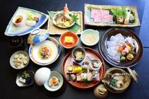 季節の会席料理(秋)例