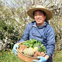 【農園の野菜たち】「珊瑚礁」農園では、数々の季節野菜が育ちます♪