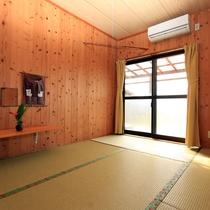 【和室6畳】のんびりできる畳のお部屋です。