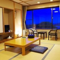 【和室一例】畳のお部屋でごゆっくりお寛ぎください。