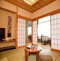 ■海の座・ユニバーサルデザインタイプ客室■-露天風呂付客室タイプ-