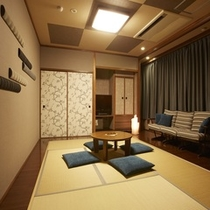 ■海の座・ユニバーサルデザインタイプ客室■-レギュラー和洋室-