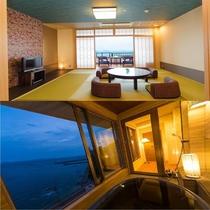 新OPEN♪◆禁煙室◆【海の座】露天風呂付客室 502号室