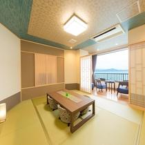 新OPEN♪■【海の座】露天風呂付客室 504号室■ 客室