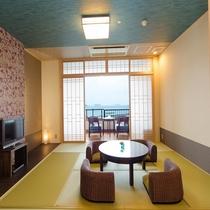 新OPEN♪■【海の座】露天風呂付客室 502号室■ 客室