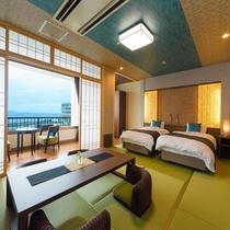 新OPEN♪■【海の座】ユニバーサルデザイン デラックスタイプ客室