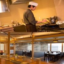 新OPEN☆【しさあふれ】オープンキッチンから焼きたての食材をお運び致します♪7