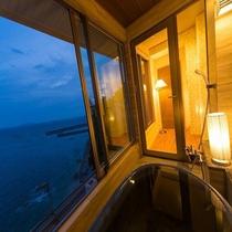新OPEN♪■【海の座】露天風呂付客室 502号室■ 露天風呂