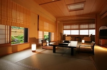 露天風呂付き和室一例