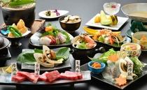 ★秋の味覚★松茸会席コース 〜うに鍋の鯛シャブコース〜