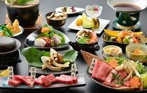 ★秋の味覚★松茸会席コース 〜亀岡牛のスキヤキコース〜