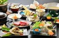 〔お日にち限定〕 ★秋の味覚★松茸会席コース 〜うに鍋の鯛シャブコース〜