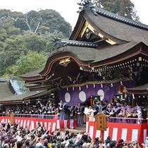 ■大神神社(1月 豆まき)