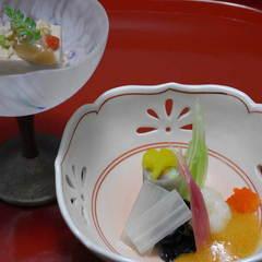 【少食の方に】 少なめお料理で、内容は充実 露天付離れ和食コースAS (PAS)