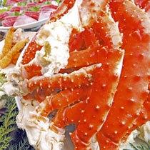 肉厚たらば蟹♪甘〜いずわい蟹イメージ