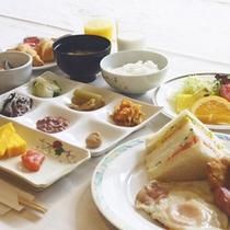 [朝食セットメニュー]状況により朝食はセットメニューになる場合がございます