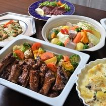【夕食ブッフェ】冬のおすすめ料理一例