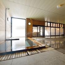 大浴場【木の湯】旭岳登山、散策、スキー後の筋肉痛、疲労回復にも最適です。