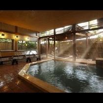 N 大浴場 朝日